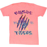 Saved by the Bell Retro Bayside Coral Silk Heather T-Shirt