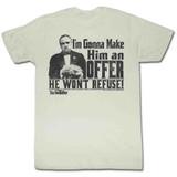Godfather An Offer Natural Adult T-Shirt