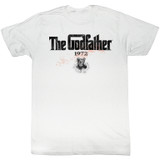 Godfather 1972 White Adult T-Shirt