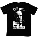 Godfather Call Me Black Adult T-Shirt