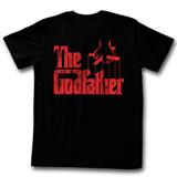 Godfather Logo Red Black Adult T-Shirt