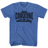 Godfather Don Corleone Royal Heather Adult T-Shirt
