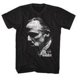 Godfather City Profile Black Adult T-Shirt