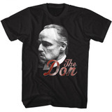 Godfather Can't Refuse The Don Black Adult T-Shirt