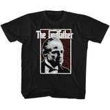 Godfather Seeing Red Black Toddler T-Shirt
