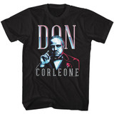 Godfather Don Corleone Black Adult T-Shirt