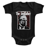 Godfather Seeing Red Black Baby Onesie T-Shirt