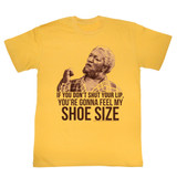Redd Foxx Sanford and Son Shoe Size Ginger T-Shirt