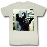 Robocop Thumbs And Ammo Natural T-Shirt