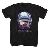 Robocop 90's Chrome Black T-Shirt