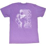 Robocop Vintage Robocop Neon Purple Heather T-Shirt