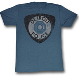 Robocop Detroit Pd Navy Heather T-Shirt
