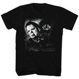 Halloween Needle Cracked Logo Black Adult T-Shirt