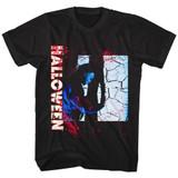 Halloween Closet Doors Black Adult T-Shirt
