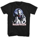 Halloween Ensemble Black Adult T-Shirt