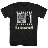 Halloween Film Strip Black Adult T-Shirt