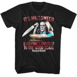 Halloween Good Scare Black Adult T-Shirt
