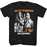 Halloween It Was Black Adult T-Shirt