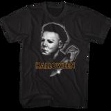 Halloween Airbrush Black Adult T-Shirt