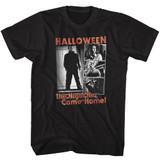 Halloween The Night Black Adult T-Shirt