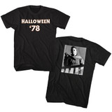 Halloween '78 Black Adult T-Shirt