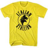 Rocky Italian Stallion Yellow T-Shirt