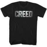 Rocky Creed Logo Black T-Shirt