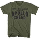 Rocky Apollo Home Military Green T-Shirt