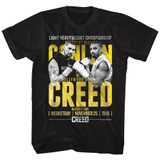 Rocky Conlan vs Creed Black T-Shirt