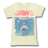 Jaws Fade Natural Junior Women's T-Shirt