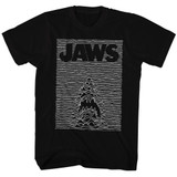 Jaws Jaw Division Black Adult T-Shirt