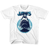 Jaws Jawhol White Children's T-Shirt