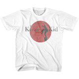 Karate Kid 80's Logo White Youth T-Shirt
