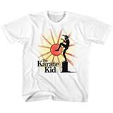 Karate Kid Ninja Sun White Youth T-Shirt