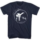 Karate Kid Faded Navy Adult T-Shirt