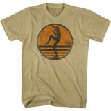 Karate Kid Another One Khaki Heather Adult T-Shirt
