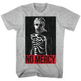 Karate Kid No Mercy Gray Heather Adult T-Shirt