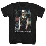 Karate Kid Justice 4 Johnny Black Adult T-Shirt