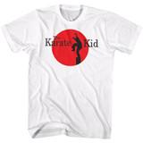 Karate Kid Logo White Adult T-Shirt