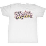 Major League White Adult T-Shirt