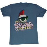 Major League Mohawk Navy Heather Adult T-Shirt