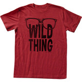Major League Wild Thing Red Adult T-Shirt