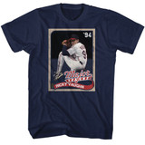 Major League Cards Navy Adult T-Shirt