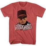 Major League DeseRT Sheen Red Heather Adult T-Shirt