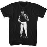 Major League Junk Black Adult T-Shirt