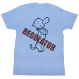Popeye Regulator Light Blue Heather Adult T-Shirt