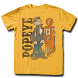 Popeye Ginger Adult T-Shirt