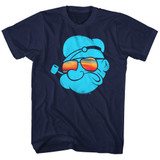 Popeye Aviators Navy Adult T-Shirt