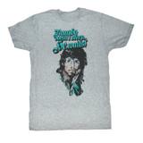 Rambo Rain On Your Face Gray Heather Adult T-Shirt