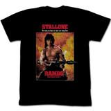 Rambo Part II Black Adult T-Shirt